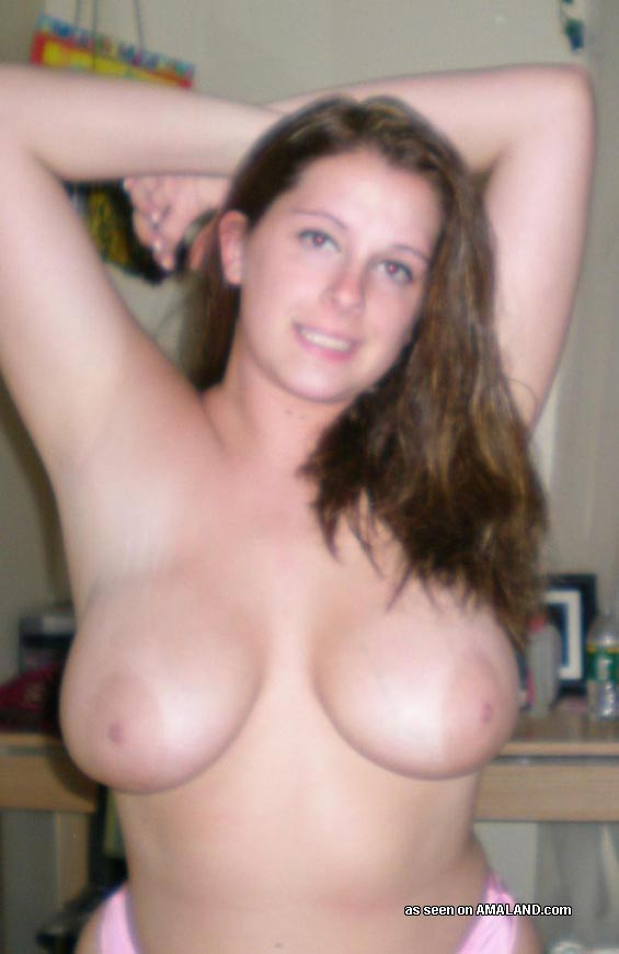 The Chubby brunette naked think